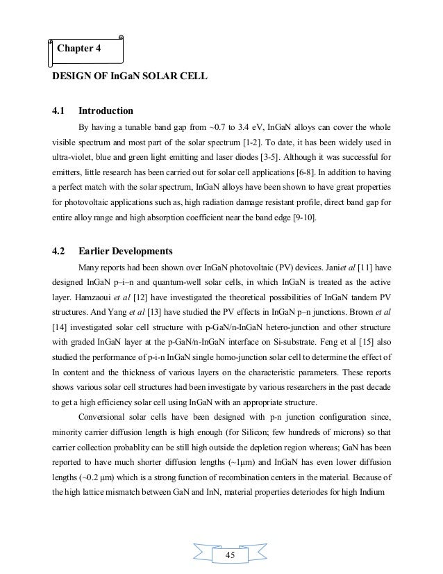 solar cell simulation thesis The main goal of this thesis was to simulate a solar cell with the symbolic  manipulation  the results were con rmed by setting up the same solar cell with  pc1d.