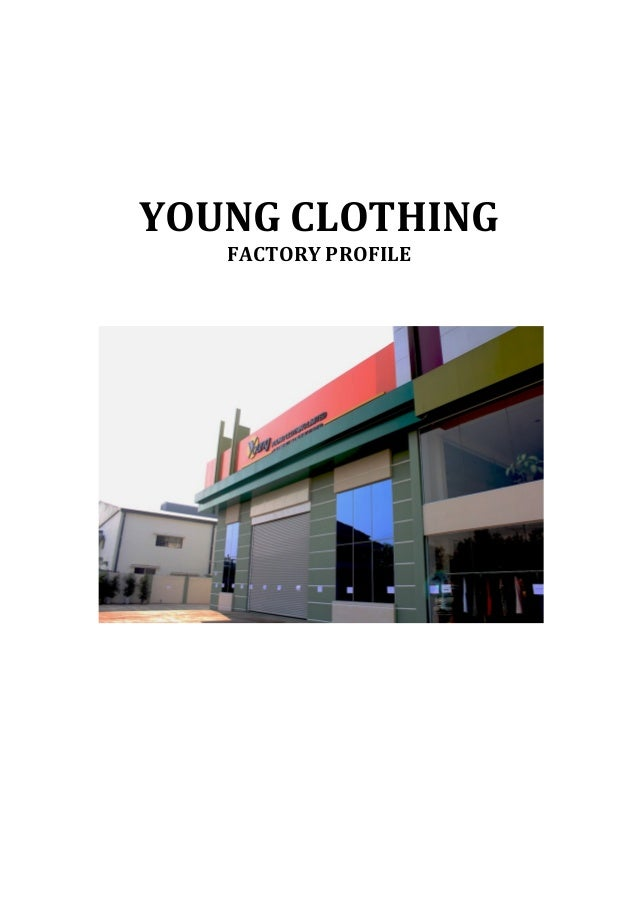 YOUNG  CLOTHING   FACTORY  PROFILE                              ...