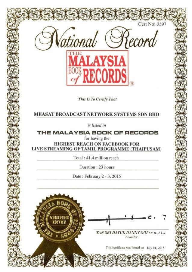 Astroulagam Malaysia Book Of Record