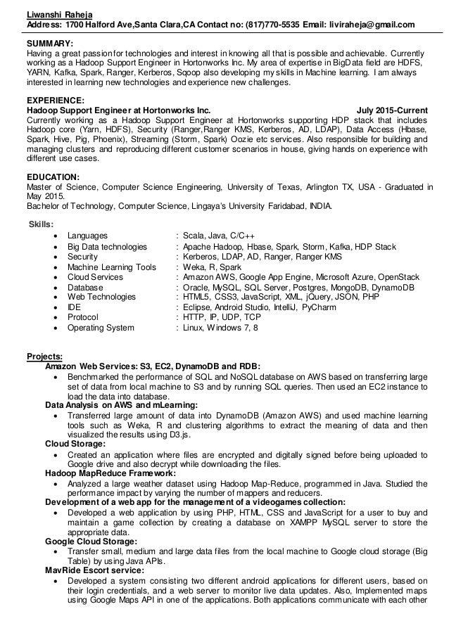 liwanshi raheja resume