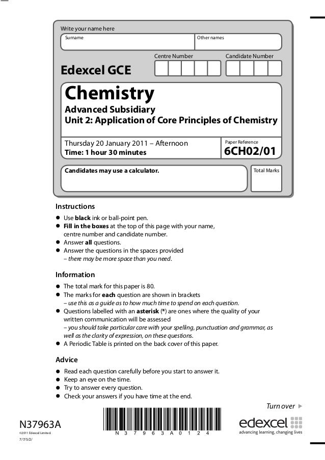 N37963A©2011 Edexcel Limited.7/7/5/2/*N37963A0124*Instructions• Use black ink or ball-point pen.• Fill in the boxes at the...