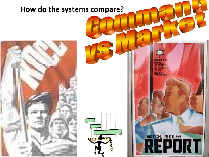 How do the systems compare? Command  vs Market