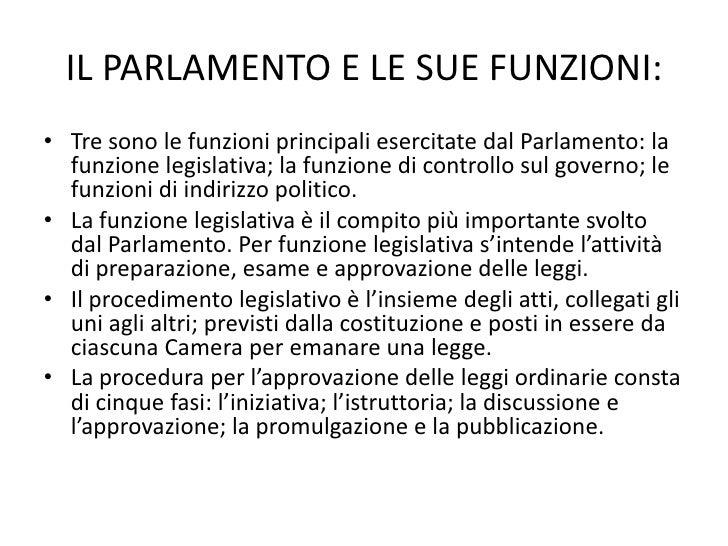 Lo stato italiano e i suoi organi for Parlamento italiano schema