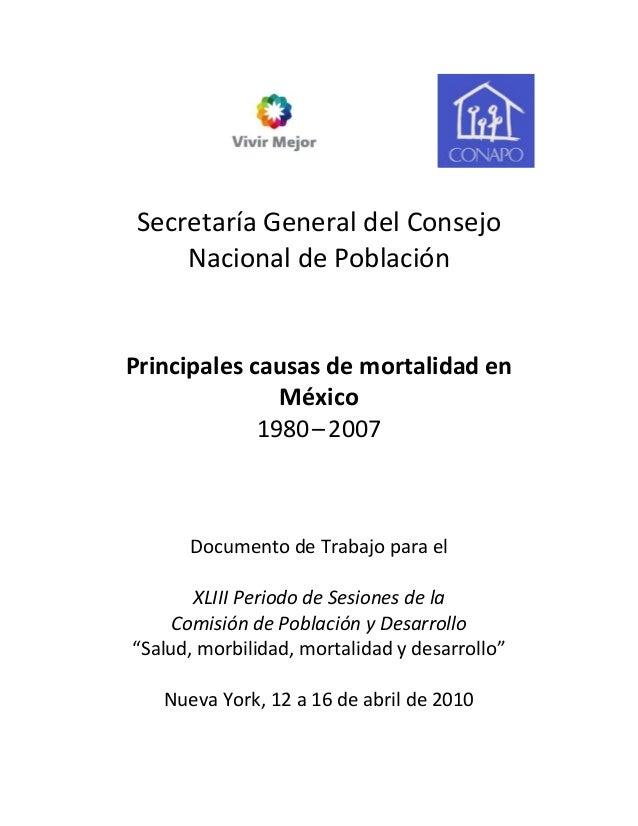 SecretaríaGeneraldelConsejo     NacionaldePoblación                   ...
