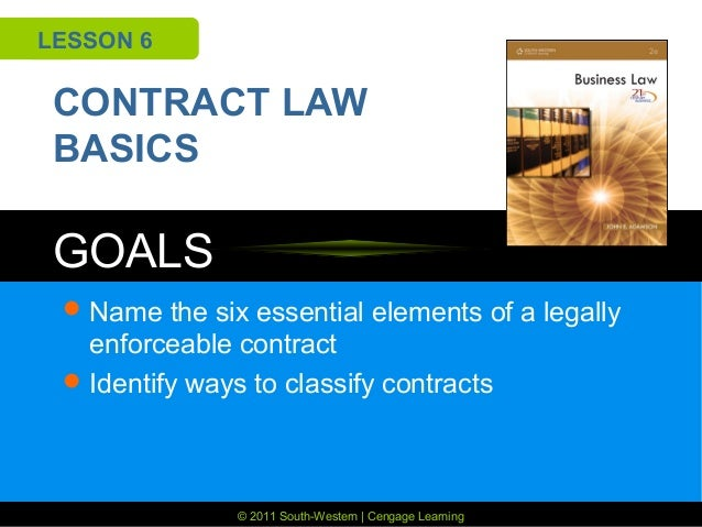 the law of contract in south The law of contract in south africa leadtime indicates for each product that you would like to procure, the estimated leadtime it will take before the parcel will.