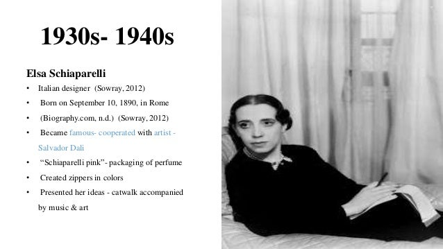 Biography of fashion designers 22