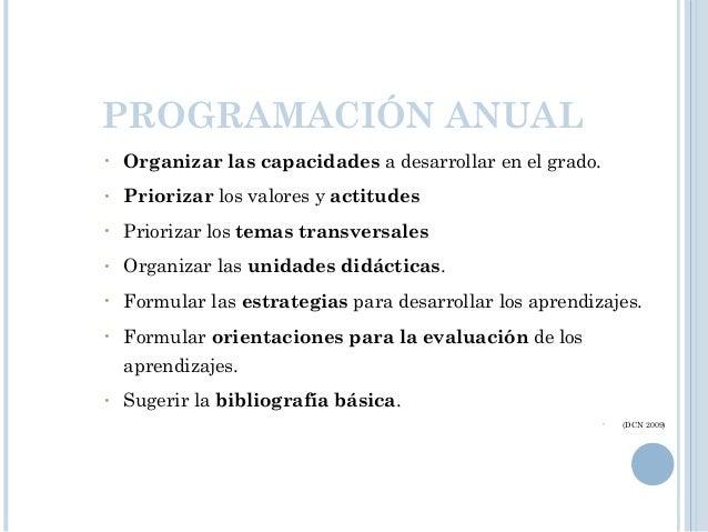 PREGUNTAS FUNDAMENTALES PROGRAMACIÓN • ¿ Qué aprenderán los estudiantes? : Capacidades y Actitudes • ¿ Cómo aprenderán los...