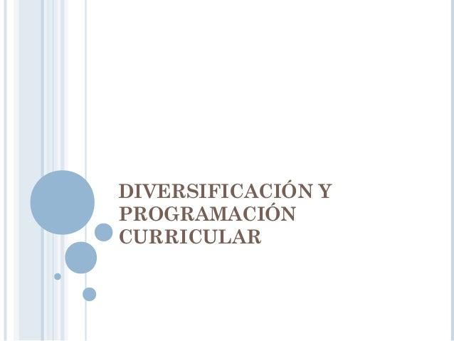 Instancias de gestión educativa descentralizada en las que se diversifica el DCN