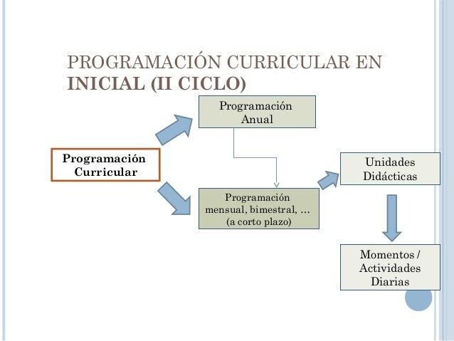 PROGRAMACIÓN ANUAL Programación Curricular