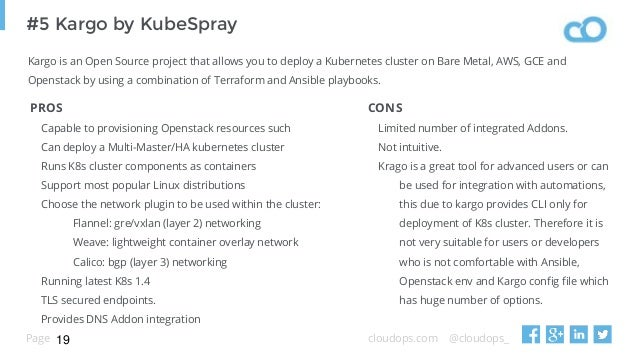 9 ways to consume kubernetes on open stack in 15 mins (k8s