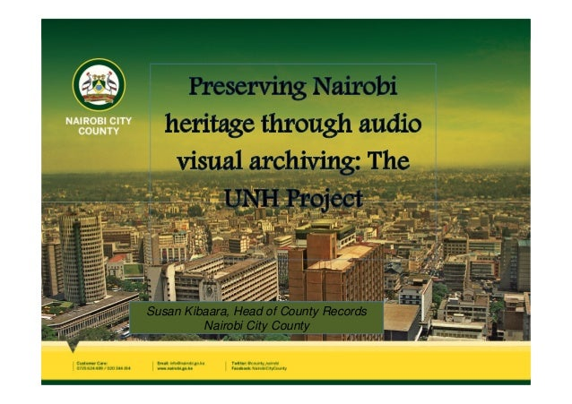 Susan Kibaara, Head of County Records Nairobi City County
