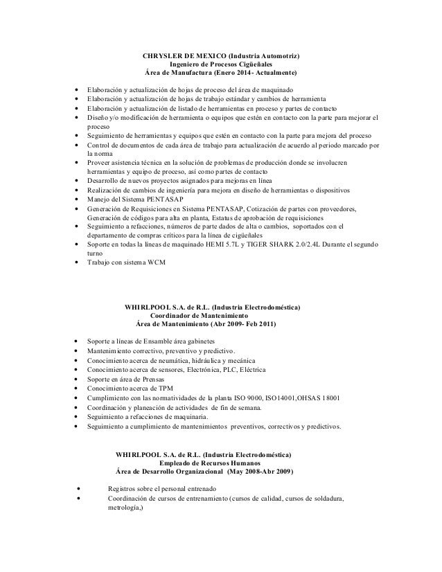 CURRICULUM RAMIRO ZUÑIGA SALOMON Slide 3