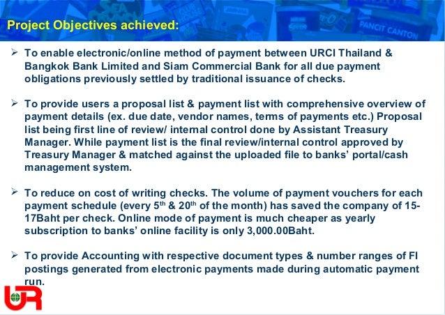 URC TH Bank Enhanced Payment