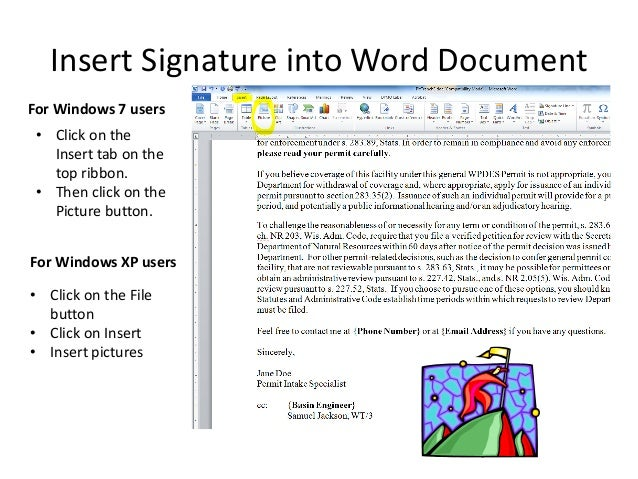 how to add electronic signature