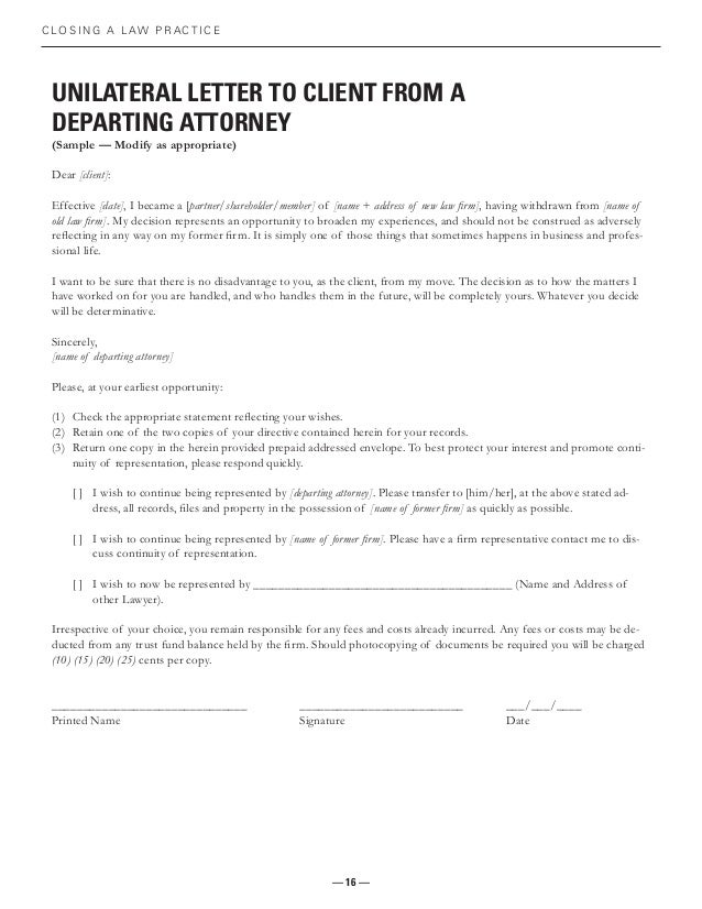 Attorney Withdrawal