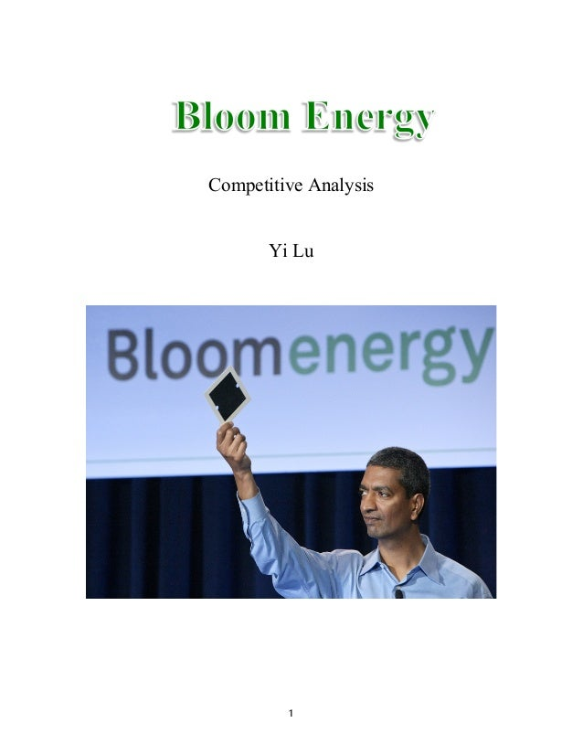 Bloom Engergy