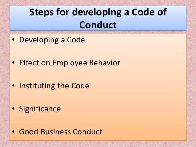 "business ethics code of conduct Introduction decode genetics (the ""company"") has adopted this code of business conduct and ethics (the ""code"") to set forth the company's standards and."