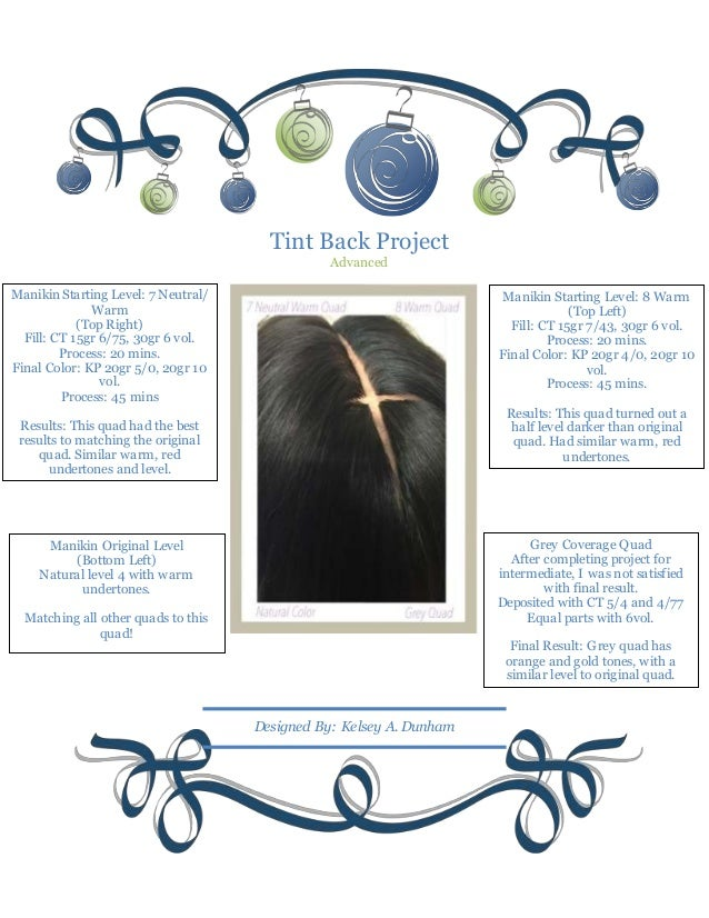 Tint Back Project Advanced Manikin Original Level (Bottom Left) Natural level 4 with warm undertones. Matching all other q...
