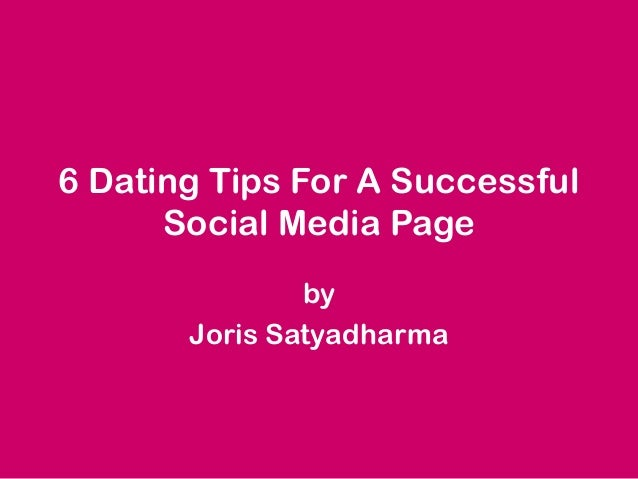 5 Tips for Successful Dating