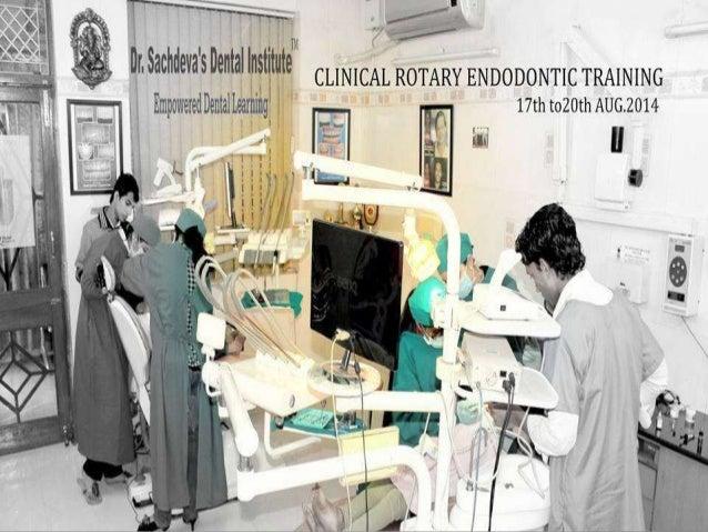 Endodontic Training Courses in Delhi