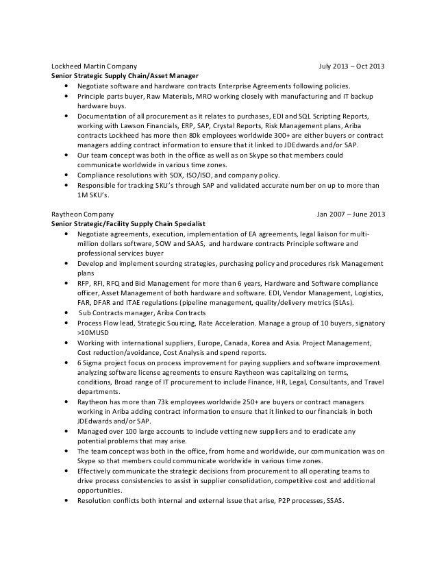 SAP Ariba Resume Sample   MintResume