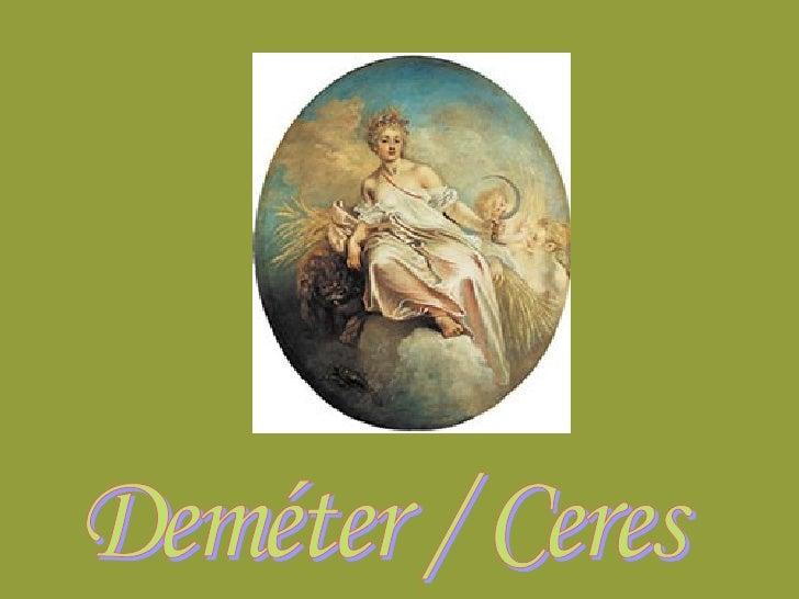 Deméter / Ceres