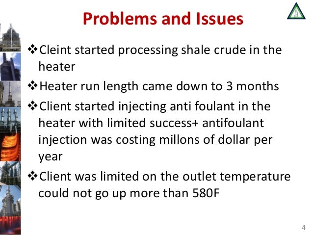 Improve Shale Oil Crude Heater Performance