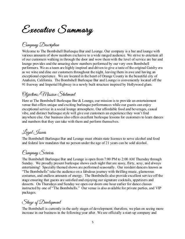 An is plan for consulado bar and lounge essay