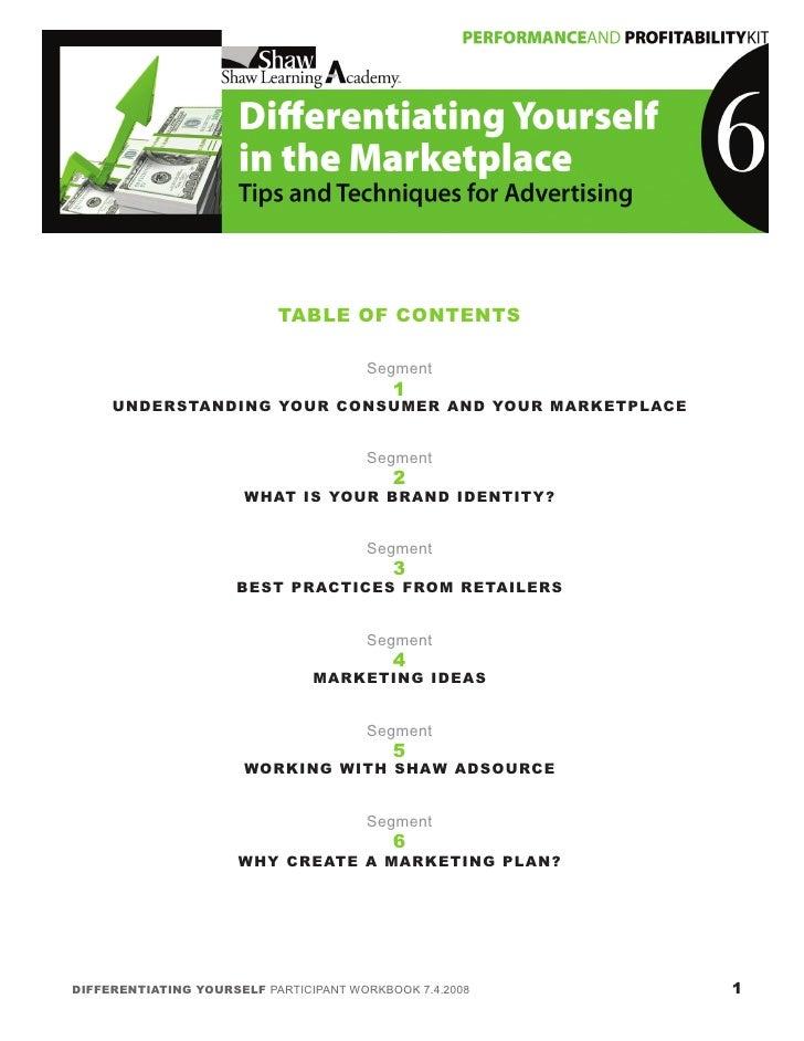 6 Differentiating Marketplace11 24 08 Slide 2