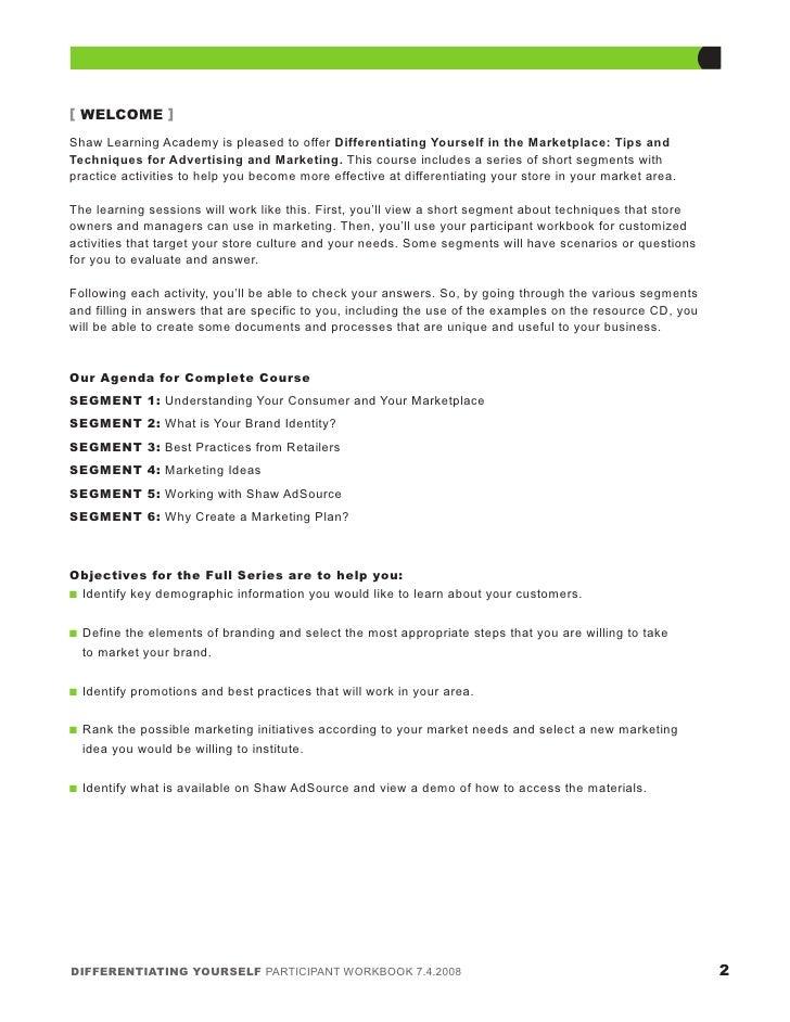 6 Differentiating Marketplace11 24 08 Slide 3