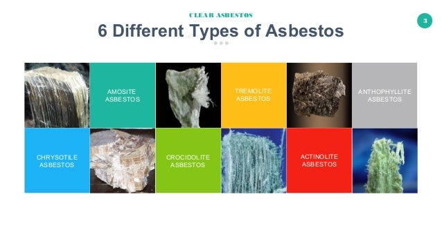 6 Different Types of Asbestos