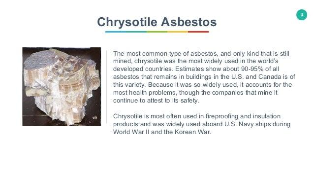 6 Different Types of Asbestos