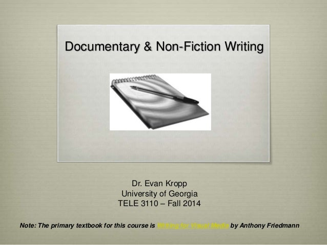 Writing a documentary treatment for University of manchester powerpoint template