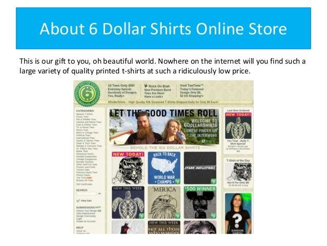 Dollar Shirts Online