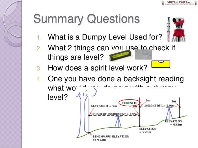 6 Dumpy Levels Example Of Use