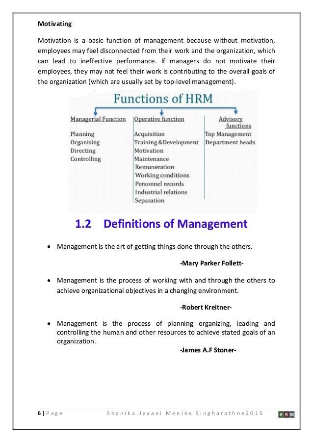 Dissertation proposal in hrm