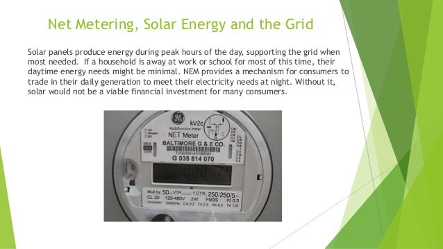 Net Energy Metering : Welcome to net energy metering training