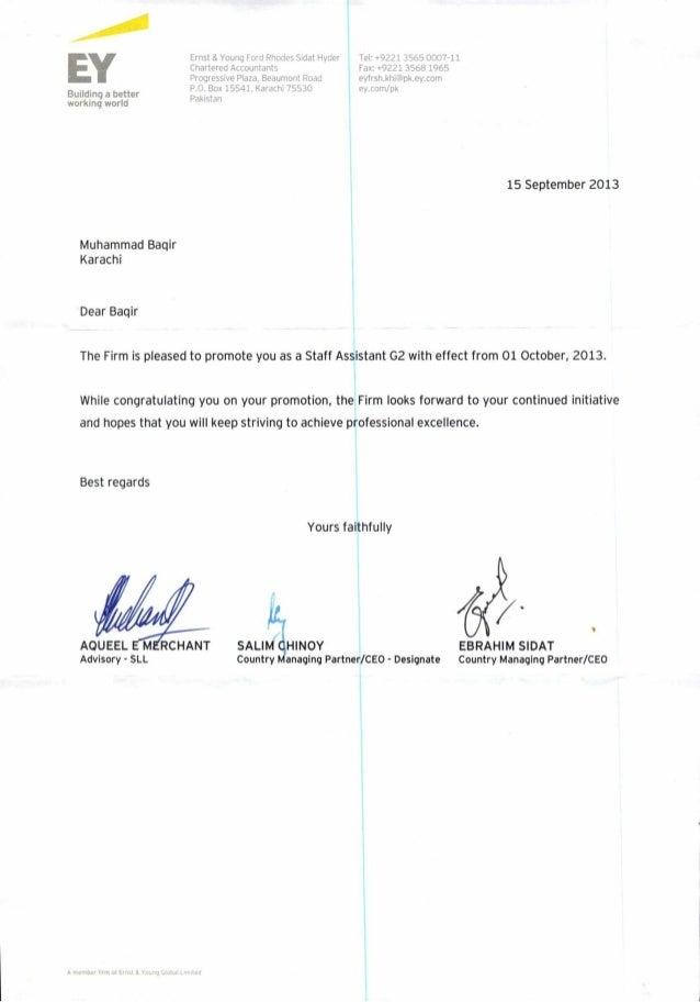 Promotion LetterPdf