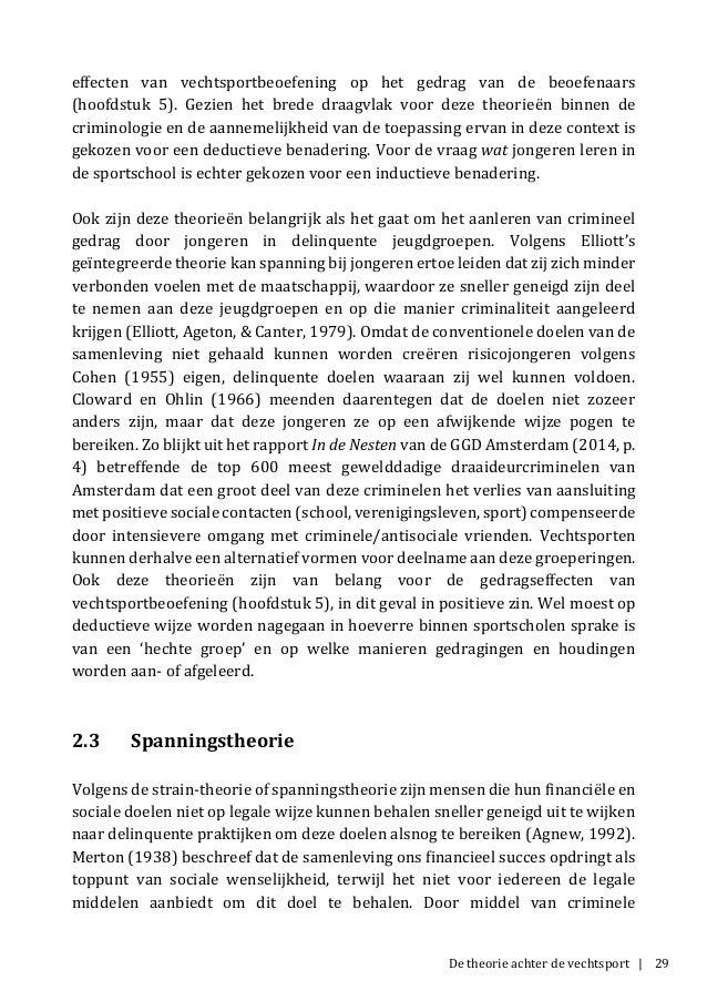 De theorie achter de vechtsport | 29 effecten van vechtsportbeoefening op het gedrag van de beoefenaars (hoofdstuk 5). Gez...