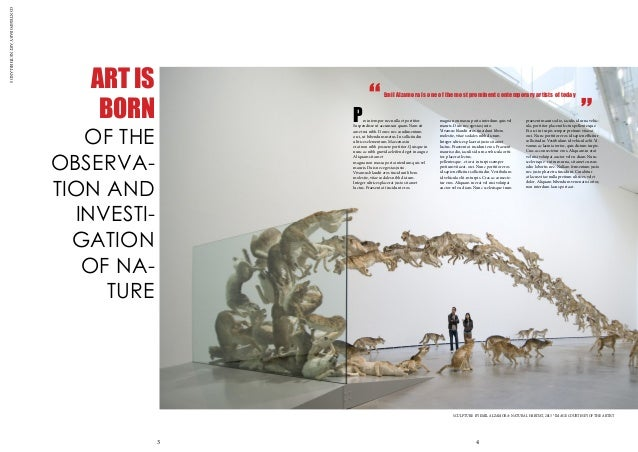 CONTEMPORARYARTNETHERLANDS ART IS BORN OF THE OBSERVA- TION AND INVESTI- GATION OF NA- TURE Proin tempor nec nulla et port...