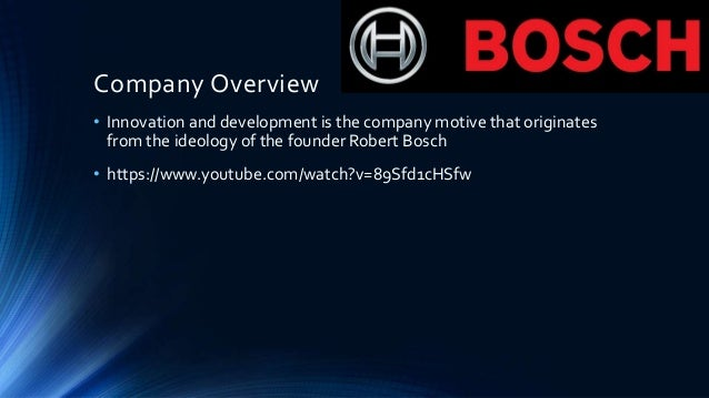executive and managerial planning for bosch kazakhstan essay Executive and managerial planning for bosch-kazakhstan bosch group is a global manufacturer of automotive and industrial technology, consumer goods and building.