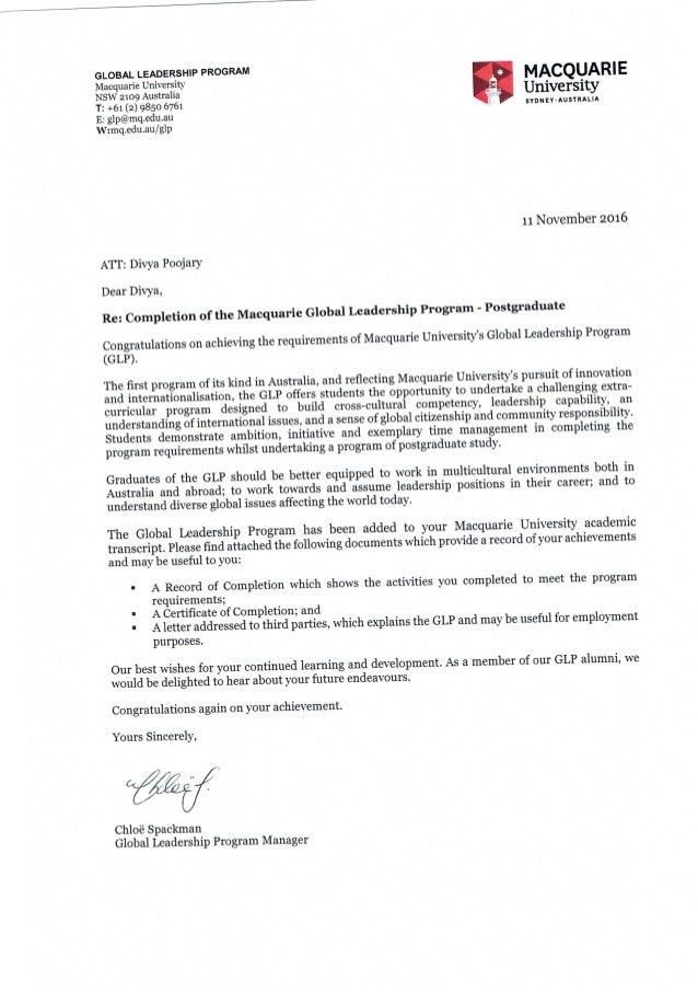 GLP documents