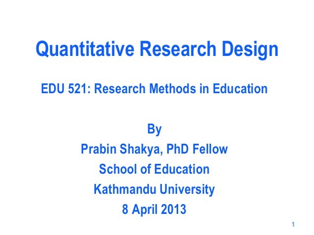 The Role of Research Methods in Education - Essay Example
