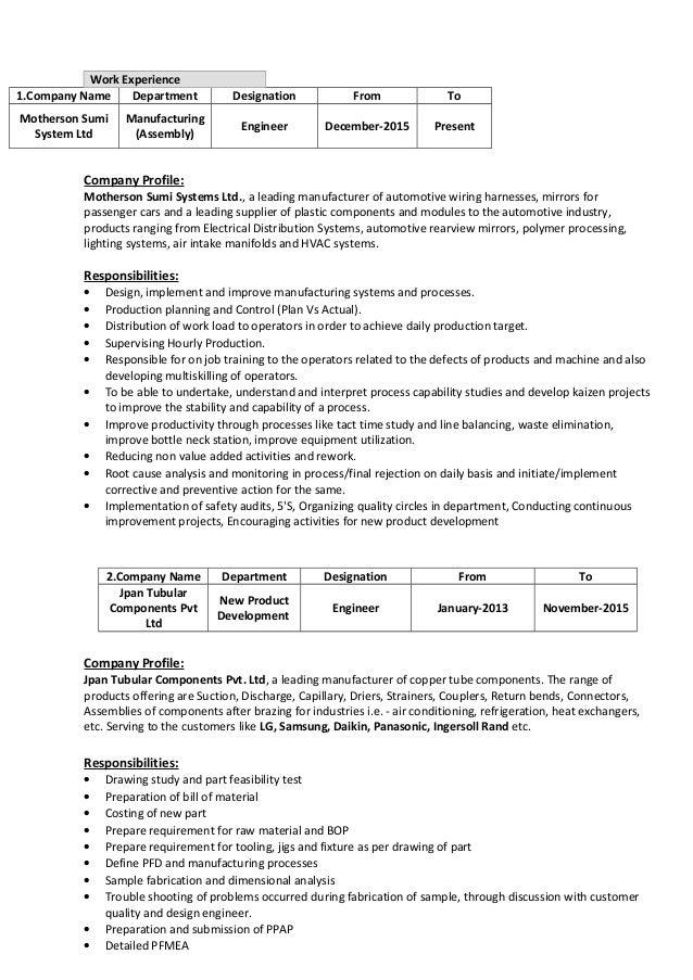 pranshu resume jan16 2 638?cb=1452786044 pranshu resume (jan16) wiring harness engineer resume at edmiracle.co