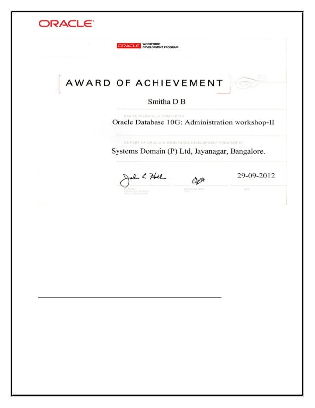 oracle DBA profile 2