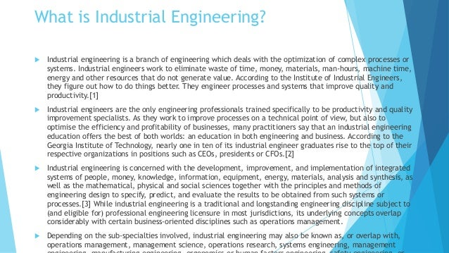 term paper of industrial engineering Learn what is mandatory for students to come up with the high quality engineering term paper a few suggestions which will guide students in engineering term papers revealed.