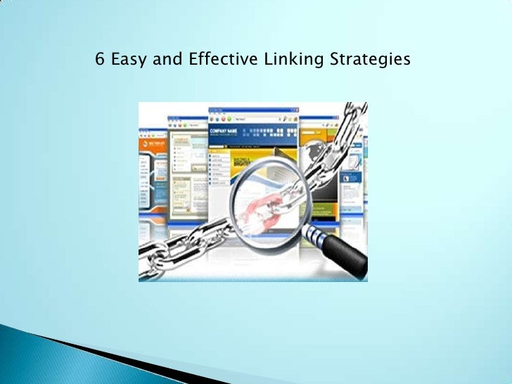 6 Easy and Effective Linking Strategies