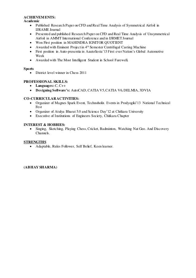 Abhay- Resume with Cover letter