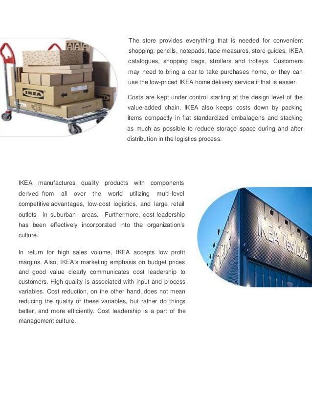Ikea Strategic Retailing