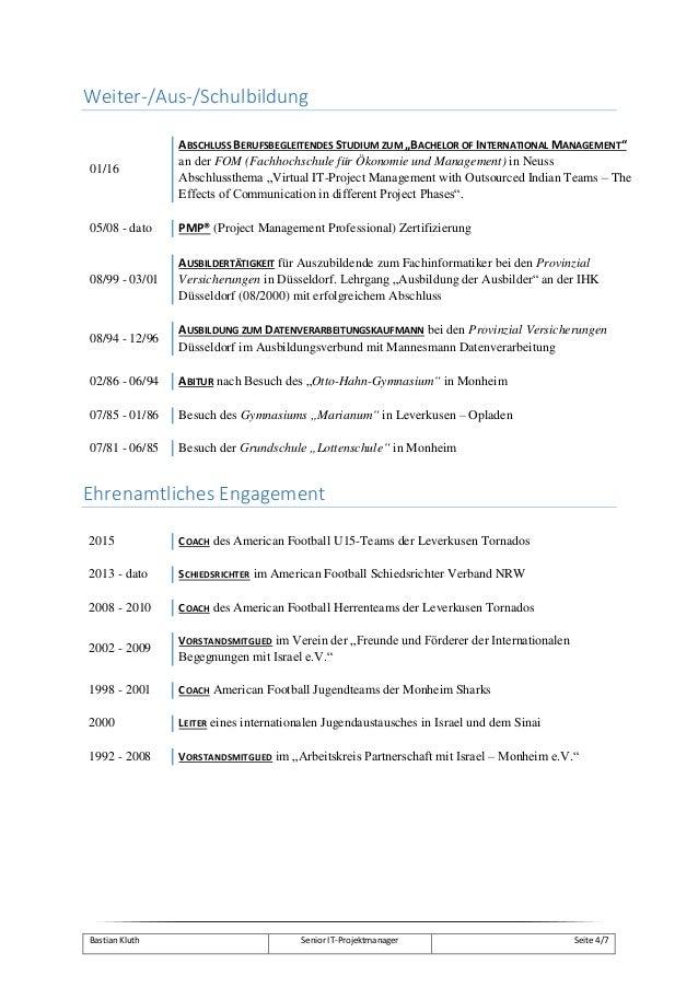 Kluth Bastian 01 Lebenslauf Mit Deckblatt Und Skillprofilcompre